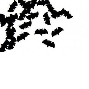 125 les chauves-souris Halloween Carte Fête D/'Anniversaire Table Confetti Sprinkle Batman Noir