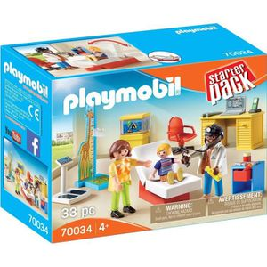 UNIVERS MINIATURE PLAYMOBIL 70034 - City Life L'hôpital - StarterPac