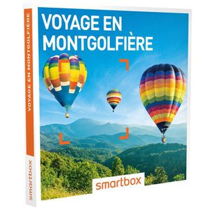 COFFRET SÉJOUR Coffret cadeau - Voyage en montgolfière - Smartbox
