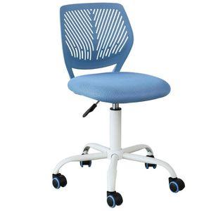 CHAISE DE BUREAU SoBuy® FST64-BL Chaise de Bureau Ergonomique Faute