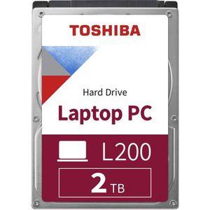 DISQUE DUR INTERNE TOSHIBA - Disque dur Interne - L200 - 2To - 5 400