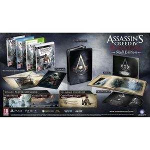 JEU PS3 Assassin's Creed 4 Black Flag - PS3 Skull Edition