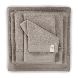 Existe en 15 Couleurs Atelier Coton Serviette DE Bain Taupe 100X150