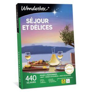 COFFRET SÉJOUR Wonderbox - Coffret cadeau en couple - NUIT GOURMA