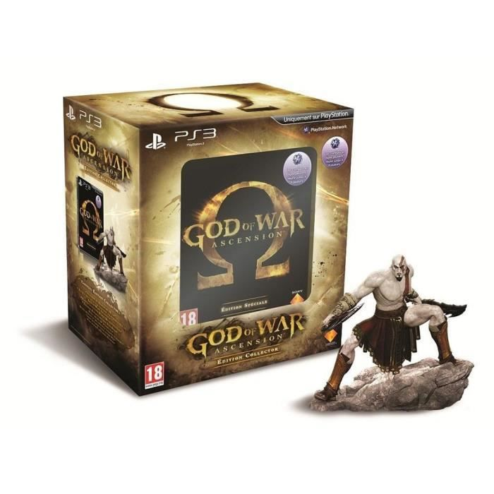 JEU PS3 GOD OF WAR : ASCENSION EDITION COLLECTOR / PS3
