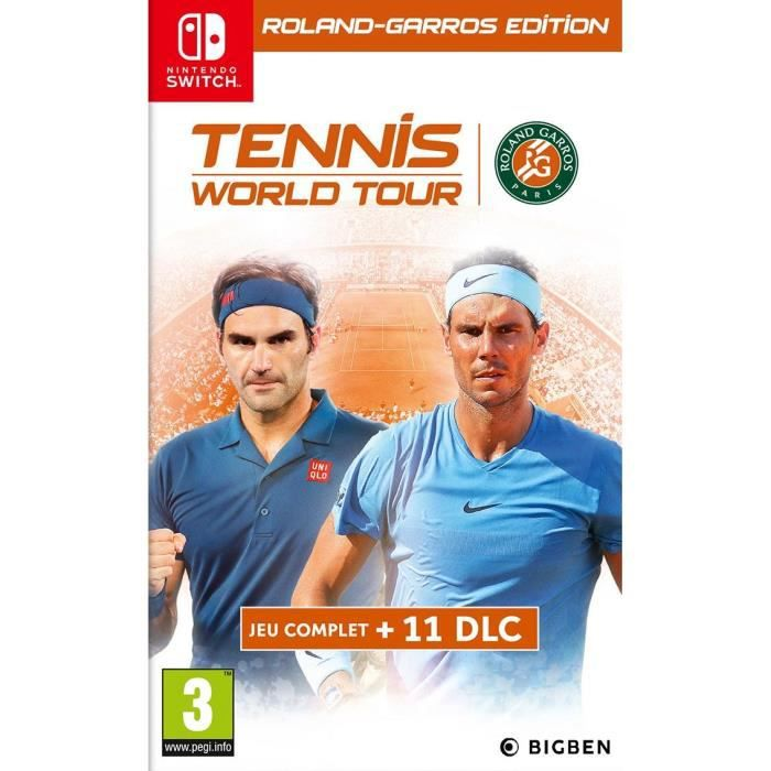 Tennis World Tour Roland Garros Jeu Switch