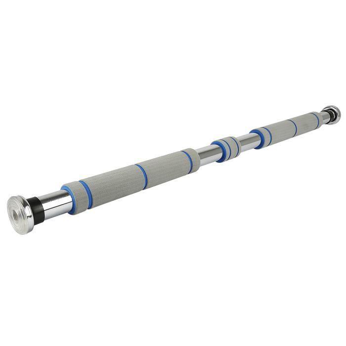 Barre pour Traction pour Porte HOMPOT - Cadre de Porte 80 – 130cm Entraîneur pour Abdominaux, Dos et Triceps