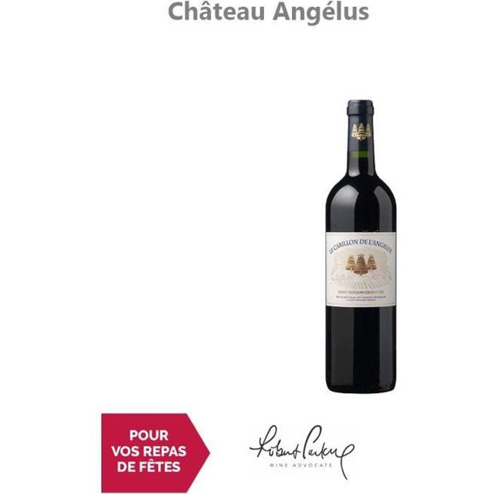 Château Angélus Le Carillon de l'Angélus Rouge 2016 - 75cl - Appellation AOC Saint-Emilion Grand Cru - Vin Rouge de Bordeaux -