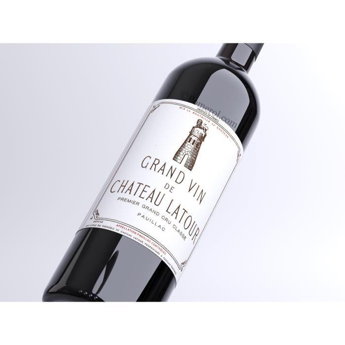 X24 Château Latour 2005 - AOC Pauillac - 1er Grand Cru Classé - vin rouge - Bouteille (0,75cl)