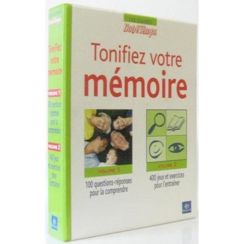 Coffret Tonifiez votre mémoire (deux volumes: Cent questions-réponses pour la comprendre quatre cents jeux et exercices pour...