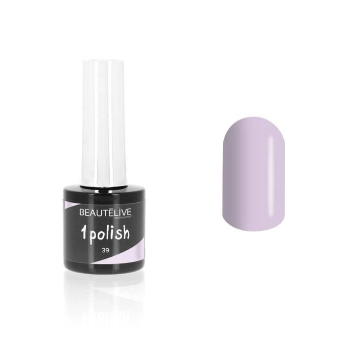 , , Vernis semi-permanent 3 en 1 39 - Sweet Lavender 8ml, Beautélive, Femme