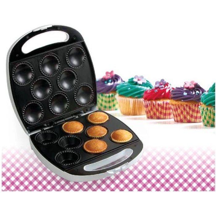 Appareil de cuisson 1400W pour 8 gâteaux - Cupc…