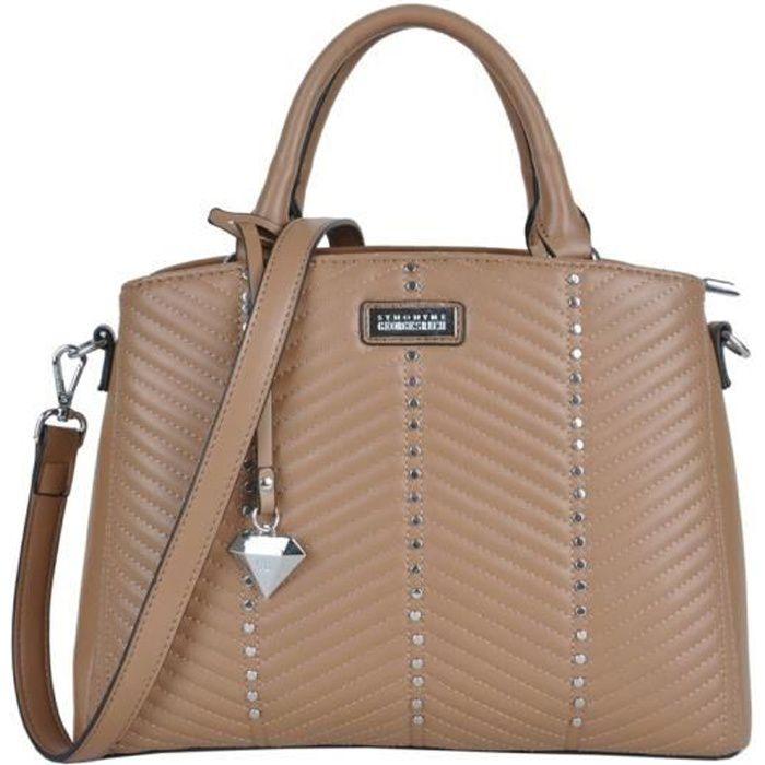 sacs portés main stephie femme georges rech gr-a19-170127 Marron