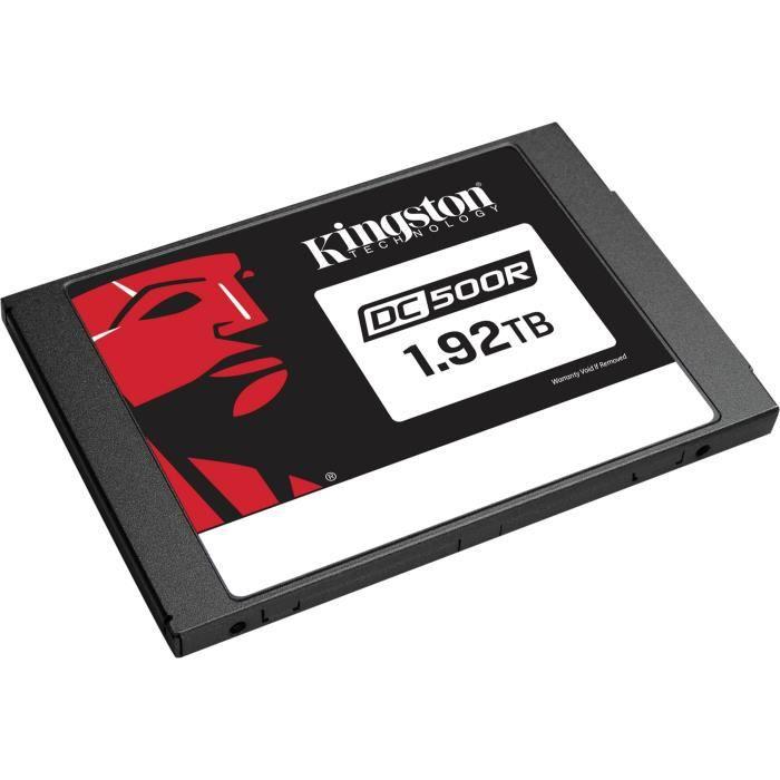 KINGSTON Disque dur SSD Interne DC500 DC500R - 2.5- - 1,92 To - SATA (SATA/600) - 555 Mo/s