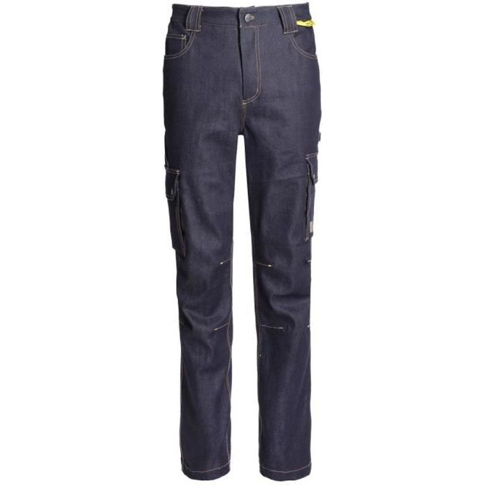 PANTALON DE TRAVAIL STRAUSSY RAW JEAN - NORTH WAYS