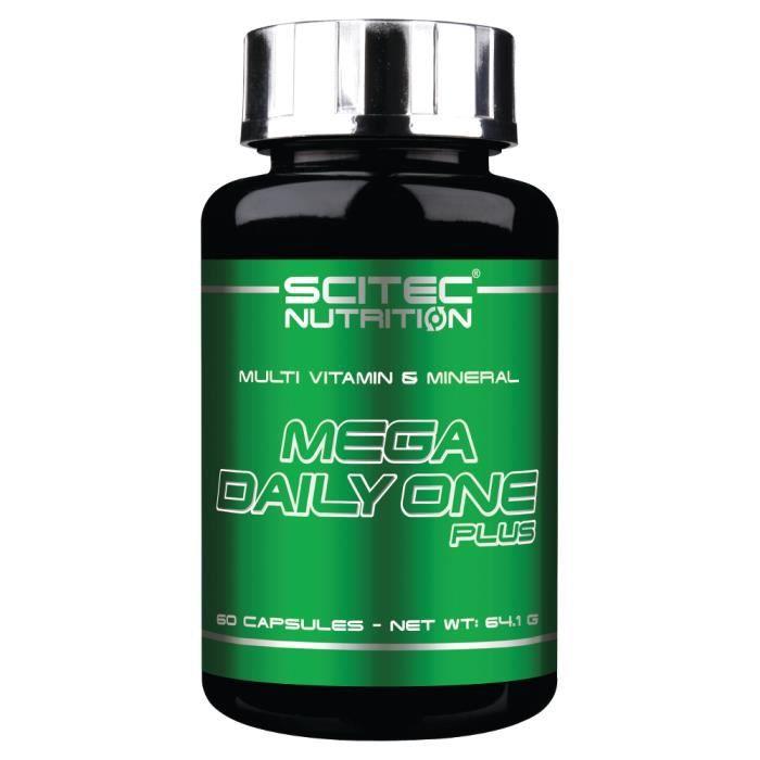 SCITEC - Mega Daily One Plus 60 caps - Multivitamines