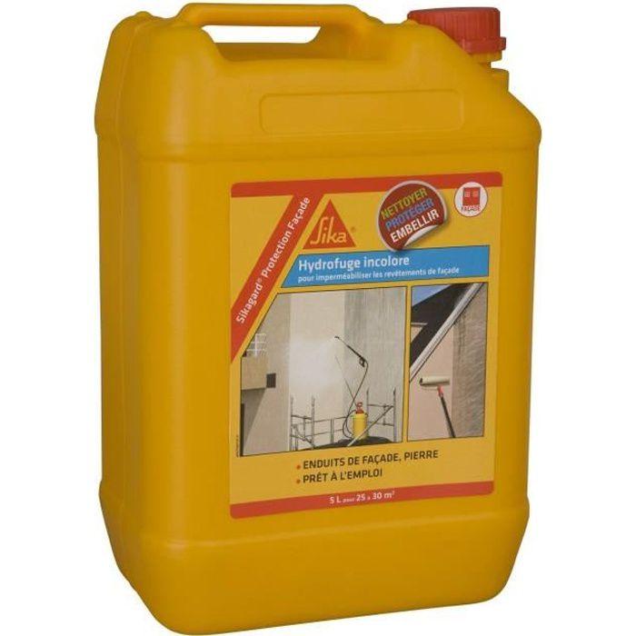 SIKA - Hydrofuge pour imperméabiliser les façades