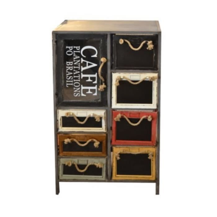 meuble a casiers factory achat vente petit meuble rangement meuble a casiers factory cdiscount. Black Bedroom Furniture Sets. Home Design Ideas