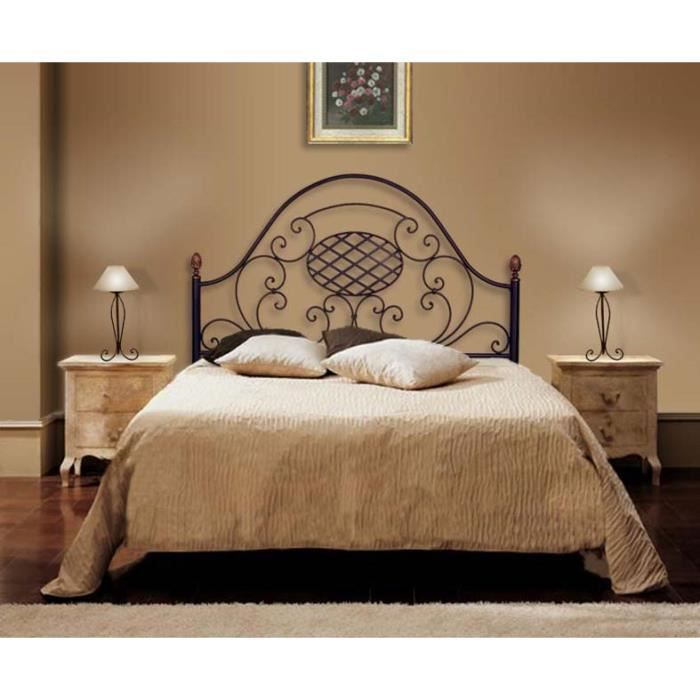 t te de lit en fer forg mod le veronica achat. Black Bedroom Furniture Sets. Home Design Ideas
