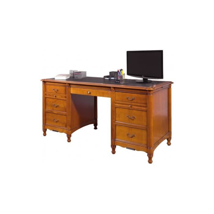bureau informatique caissons merisier 3 tiroirs 1 porte achat vente bureau bureau. Black Bedroom Furniture Sets. Home Design Ideas
