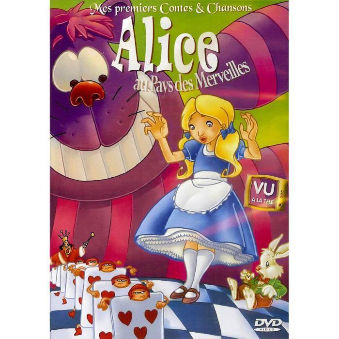 ALICE AU PAYS DES MERVEILLES - MES PREMIERS CONTES en dvd ...