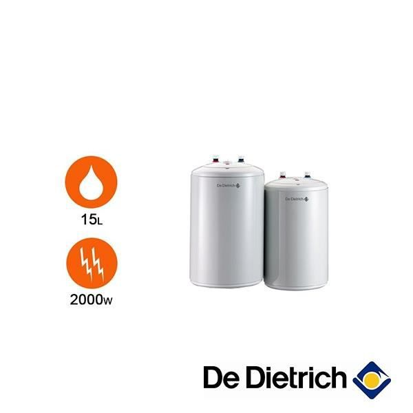 chauffe eau de dietrich cor email bloc 15 litres sous. Black Bedroom Furniture Sets. Home Design Ideas