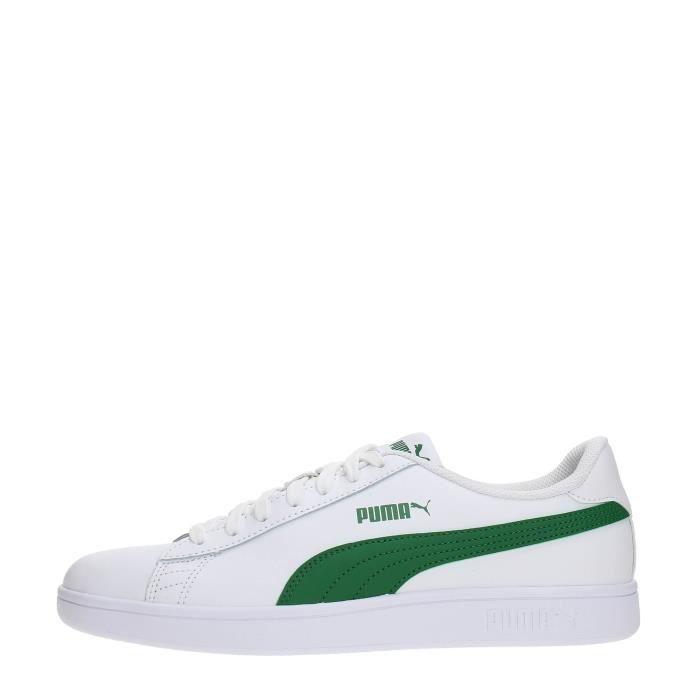 43 PUMA WHITE GREEN Homme Sneakers 8Ipq1Z