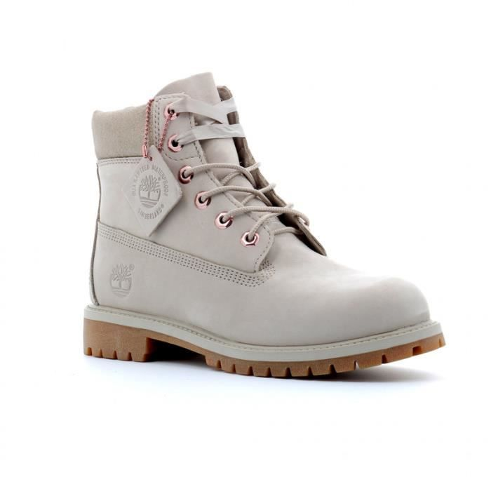 timberland 6 inch grise