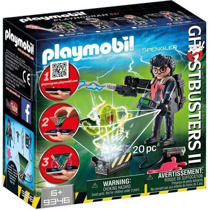 UNIVERS MINIATURE PLAYMOBIL 9346 - Ghostbusters - Playmogram 3D - Eg