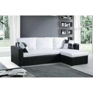 canap convertible 160x200 achat vente canap lit pas cher cdiscount. Black Bedroom Furniture Sets. Home Design Ideas