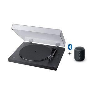 PLATINE VINYLE SONY PS-LX310XB + SRS-XB12 - Platine Vinyle Blueto