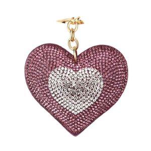 PORTE-CLÉS Femmes exquises amour coeur pendentif clé chaîne s