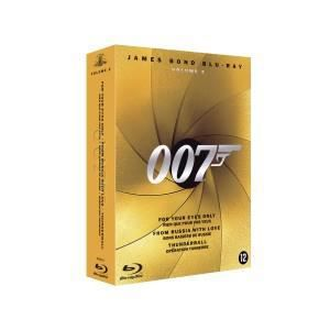 BLU-RAY FILM Coffret 3 Blu-Ray James Bond Volume 2 -  N03D