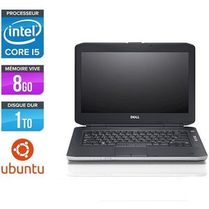 PC RECONDITIONNÉ Pc portable Dell E5430 - i5 - 8Go - 1 To HDD - Ubu