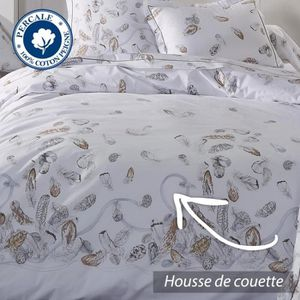housse de couette 240x260 percale achat vente housse. Black Bedroom Furniture Sets. Home Design Ideas