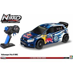 VOITURE - CAMION NIKKO Voiture télécommandée Volkswagen Polo WRC 1: