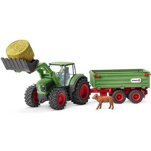 FIGURINE - PERSONNAGE Schleich Figurine 42379 - Animal de la ferme - Tra