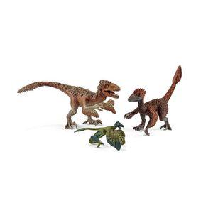 FIGURINE - PERSONNAGE Schleich Figurine 42347 - Dinosaure - Raptors à pl