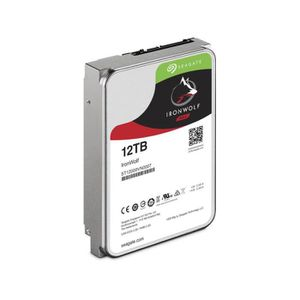 DISQUE DUR INTERNE 12 To Seagate IronWolf 3,5' SATA III 7200 tr-min 2