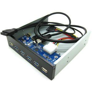 RACK - BAIES  VSHOP® Panneau avant 4 Port USB 3.0 + 2 ports USB