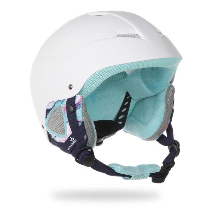 WANABEE Casque de ski Bridget ABS 300 - Femme - Blanc