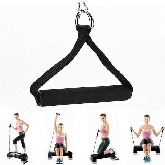 Barre d'attache pour corde de fitness Station de trempage pour pince à main Station de musculation-CHE