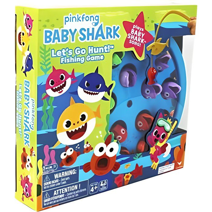 BABY SHARK - 6054916 - Jeu de Pêche enfant