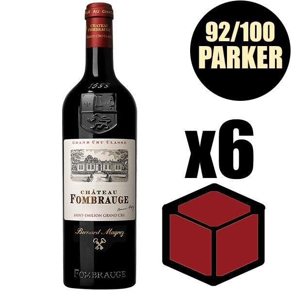 X6 Château Fombrauge 2016 75 cl AOC Saint-Emilion Grand Cru Classé Vin Rouge
