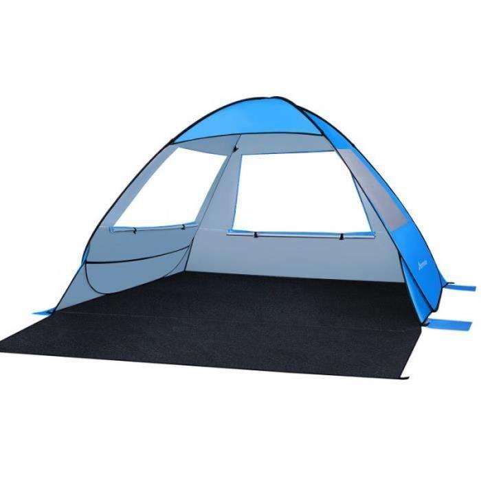 Movtotop camping escalade pop-up tente de plage Soleil abri tentate familiale tente de camping camping - camp de base