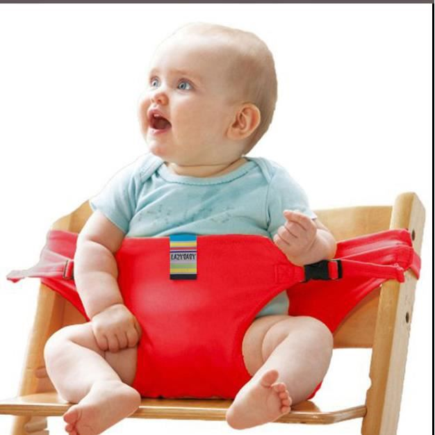 Harnais de Sécurité Siège,ceinture de sécurité bébé alimentation Toddler Rouge