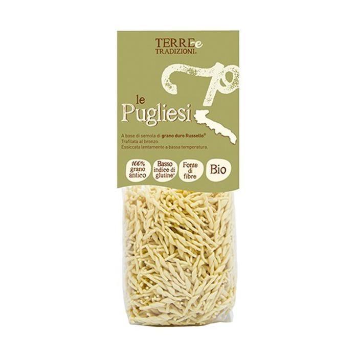 TERRE E TRADIZIONI - Trofie de blé dur Russello 400 g