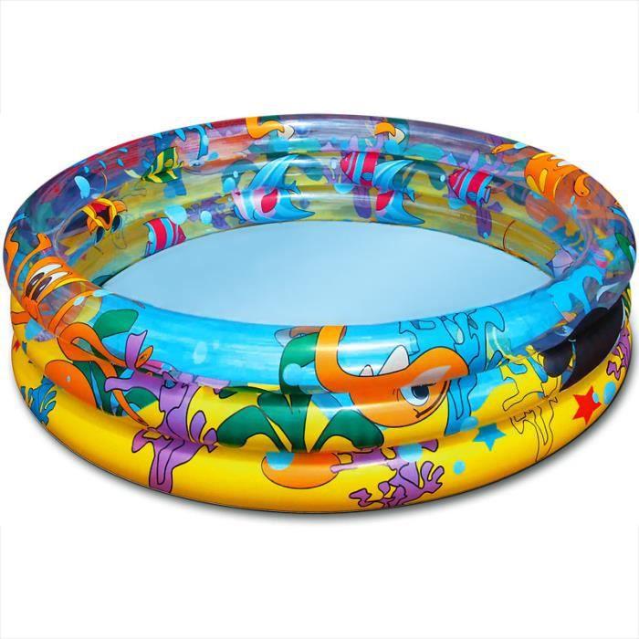 BESTWAY Piscine gonflable océan life - 102 cm x 25 cm