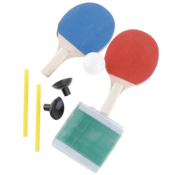 Paire de Raquette de Ping Pong - Raquette de Ping Pong Parfaite pour Débutants et Aussi pour Joueur Avancés