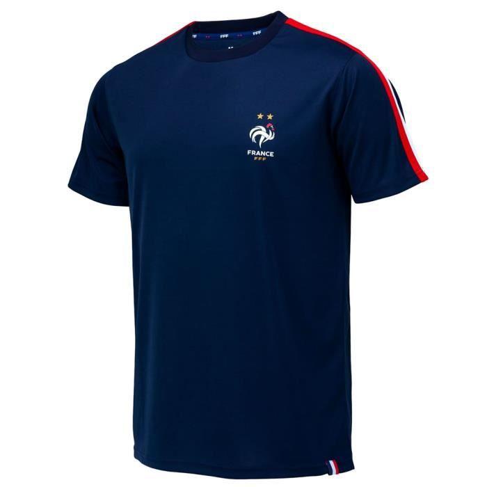 Maillot de Foot Homme Équipe de France Officiel - Bleu